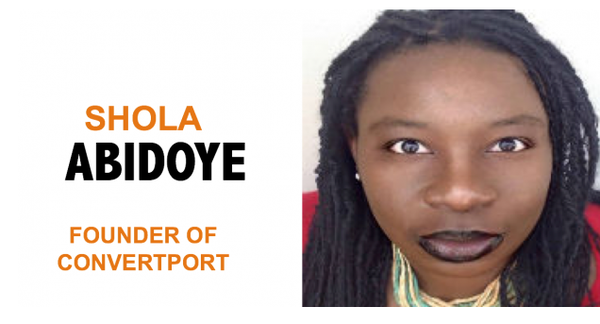 "Shola Abidoye, the so-called ""expert"" who convinced me she could help me create and release my first book into the world."